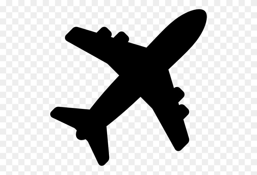 Airplane Shape Free Vector Icons Designed Plane Silhouette Png
