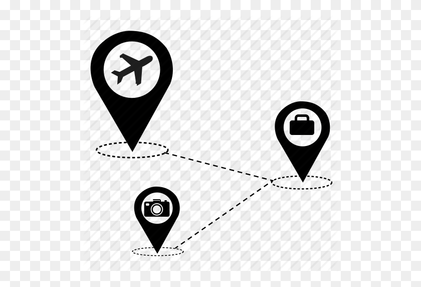 Airport Bag Go Map Tour Travel Vacation Icon Travel Icon Png Stunning Free Transparent Png Clipart Images Free Download
