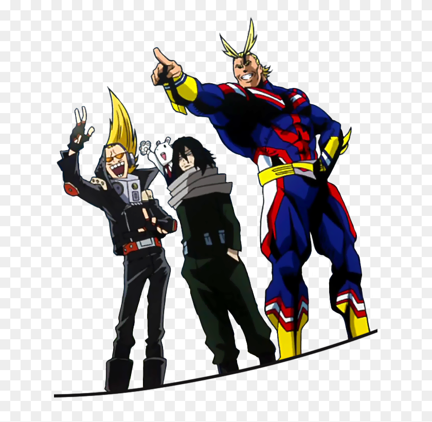 U S Of Smash On Twitter Drawing All Might All Week Has Made