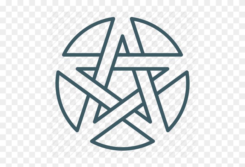 Alchemy, Circle, Magic, Pentagram Icon - Magic Circle PNG