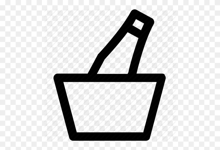 Alcohol, Beer, Beer Bucket, Drink, Fresh Beer, Iced Beer Icon - Beer Bucket PNG