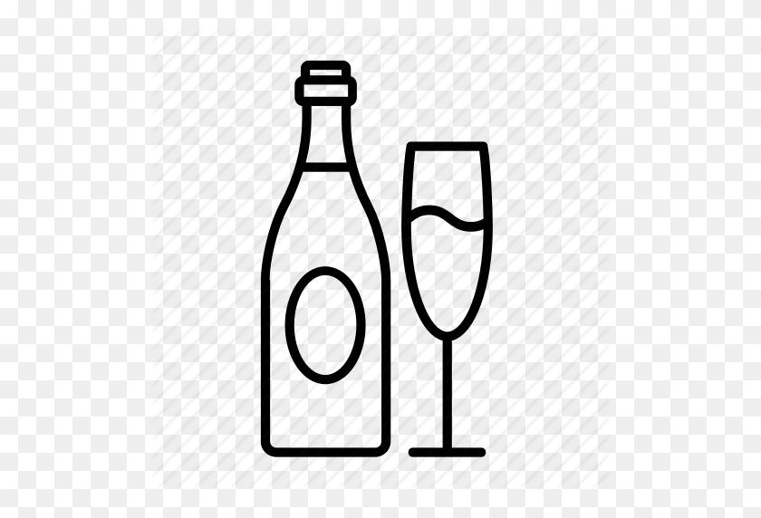 Alcohol, Bottle, Champagne, Champagne Bottle, Champagne Toast - Champagne Toast Clipart