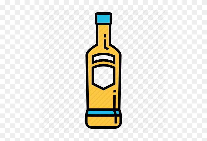 Alcohol Clipart Vodka Bottle - Alcohol Bottle Clipart