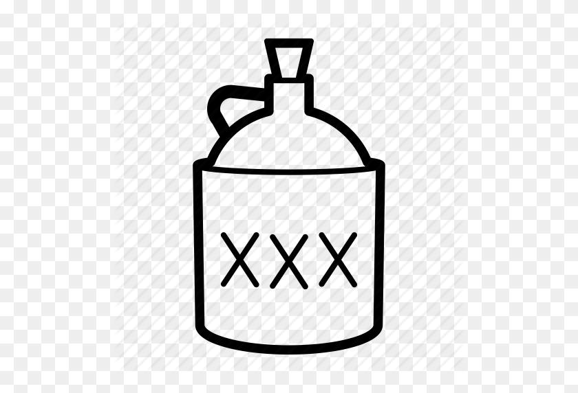 512x512 Alcohol, Distilled Drink, Distilled Spirit, Liquor, Moonshine - Moonshine Still Clipart
