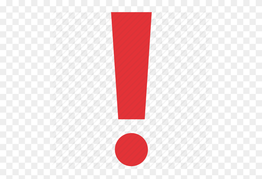 Alert, Attention, Error, Exclamation, Exclamation Mark, Sign - Red Exclamation Point PNG