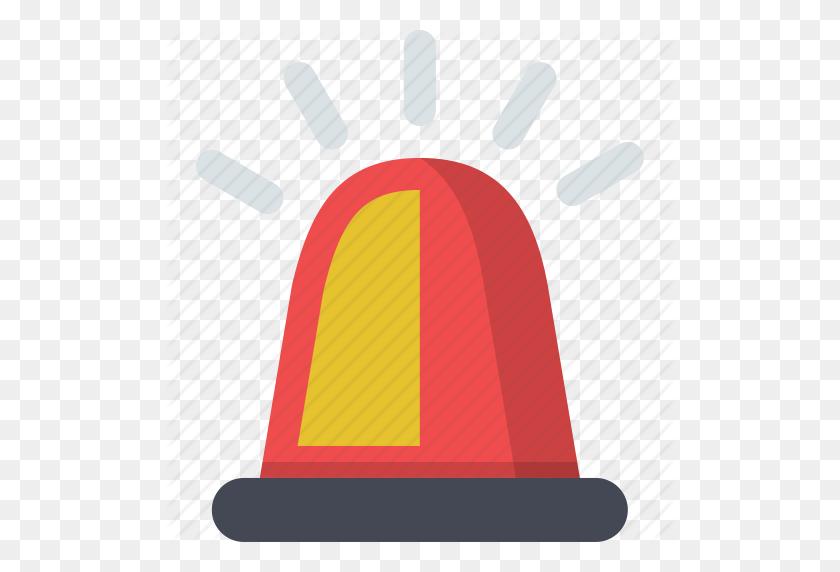 Alert, Emergency, Police, Police Car, Police Horn, Police Siren Icon - Police Siren PNG