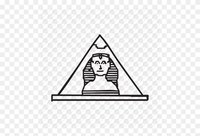 Alexandria, Egypt, Egyptian, Pyramid, Rome Wonders, Wonders - Egyptian Pyramid Clipart