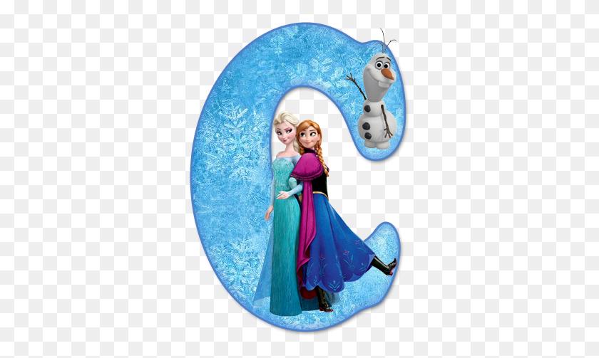 Alfabeto De Ana, Elsa Y Olaf De Frozen Aria Frozen - Elsa Frozen PNG