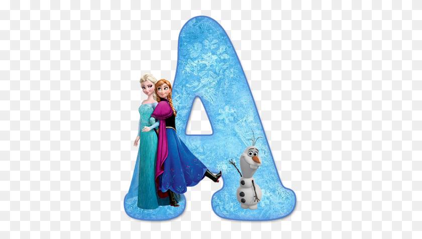 Alfabeto De Ana, Elsa Y Olaf De Frozen Frozen - Elsa Frozen PNG