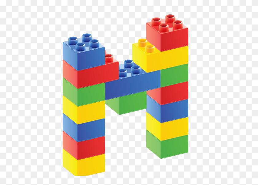 Alfabeto De Bloques M Lego Everything! Alphabet - Toy Blocks Clipart