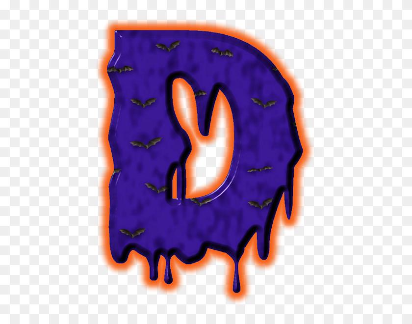 Alfabeto De Murcielagosd Scrapbook Alphabet - Scary Halloween Clipart