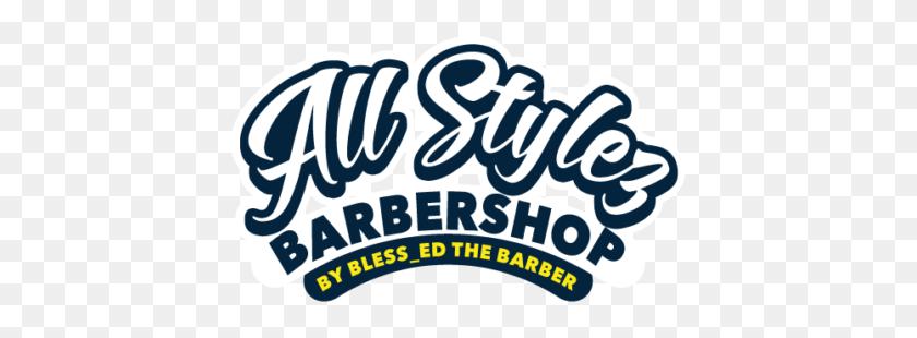All Stlyez Barber Shop - Barber Shop Logo PNG