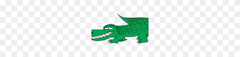Alligator Clip Art Free Crocodile Banner Black And White - Crocodile Clipart Black And White