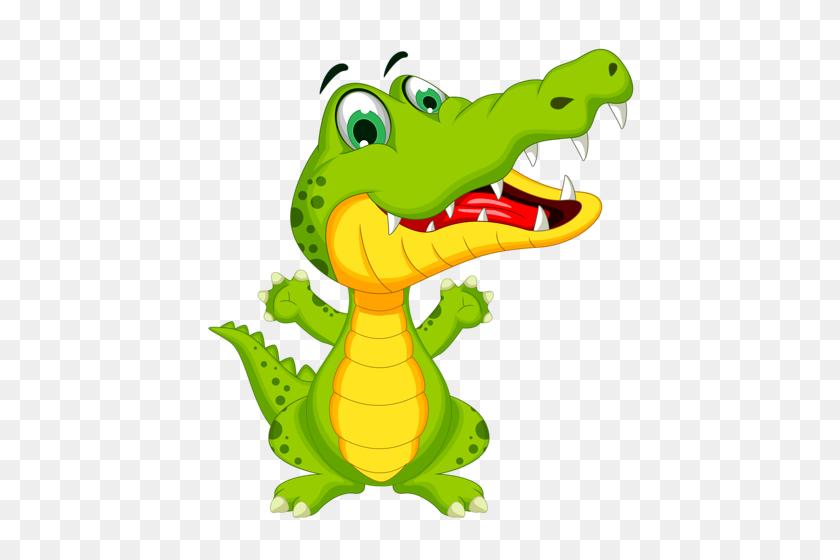Alligator Clipart Emoji - Cartoon Alligator Clipart