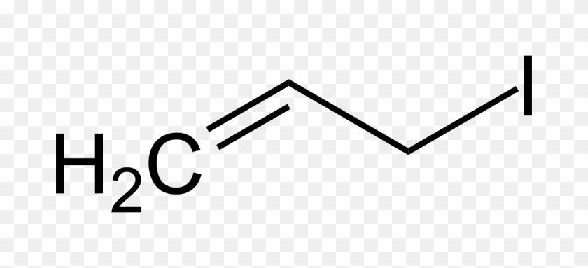 Allyl Iodide - Chemistry Clip Art