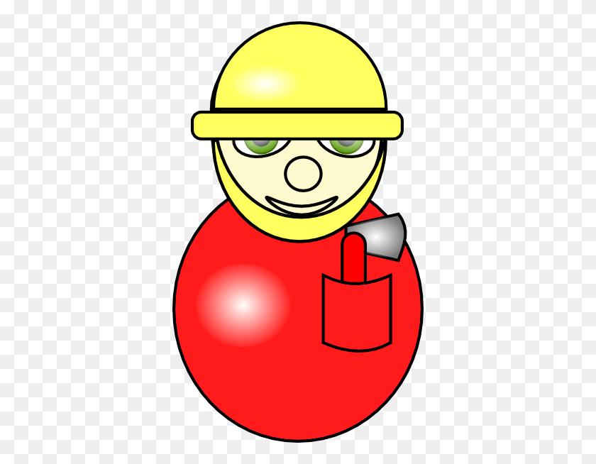 Alnepo Buzz Clip Art Fireman - Fireman Axe Clipart