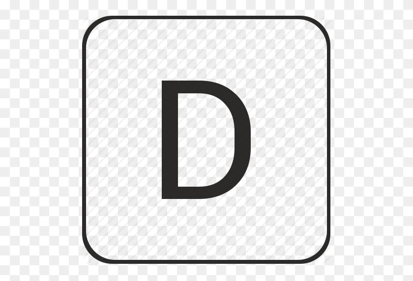 Alphabet, D, Latin, Letter, Text, Uppercase Icon - Alphabet Border Clipart