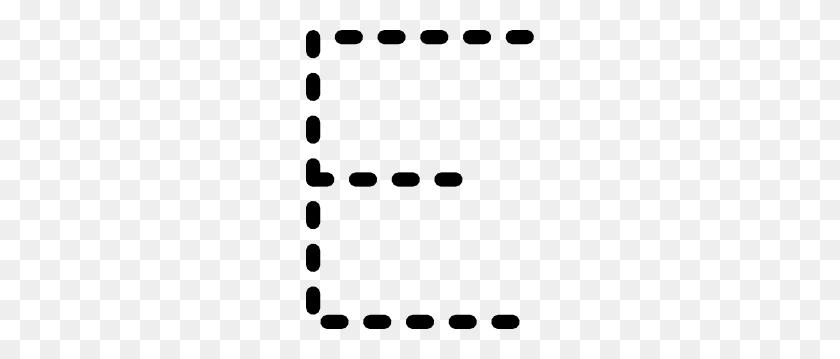 Alphabet Tracing Letter E Clip Art - Letter E Clipart