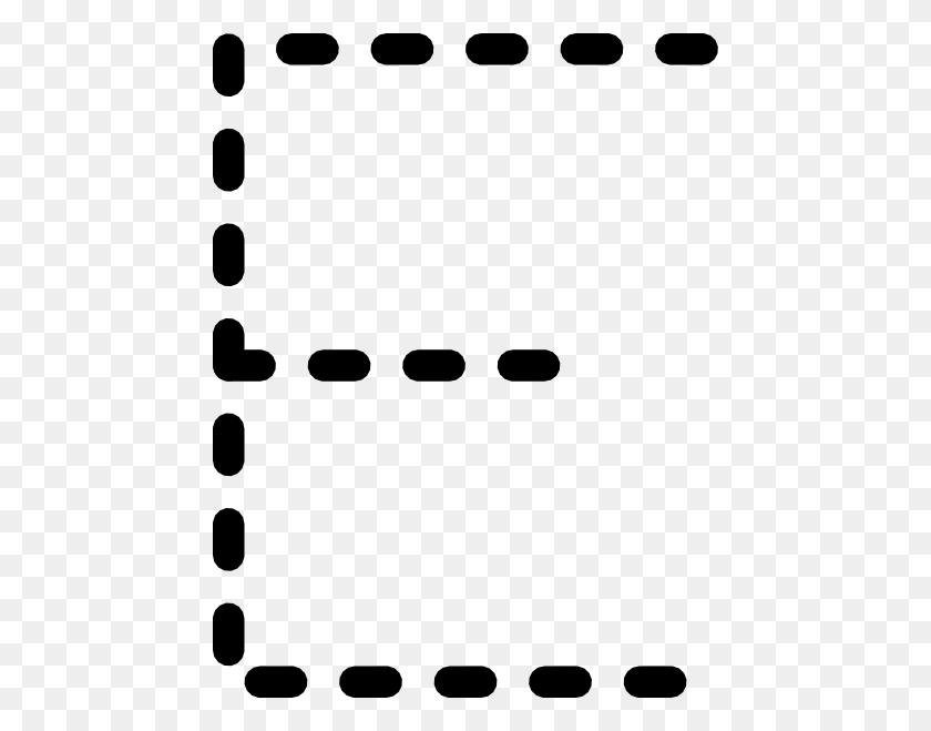 Alphabet Tracing Letter E Clip Art Free Vector - Alphabet Clipart