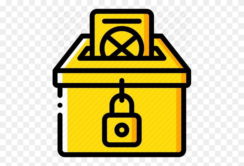 Amenities, Ballot, Box, City, Council, Vote, Voting Icon - Ballot Box Clipart