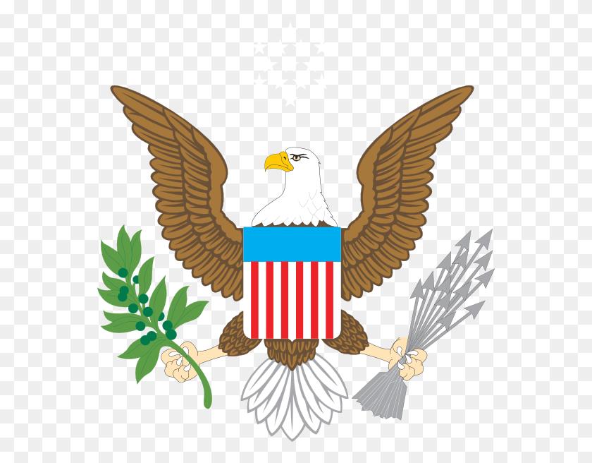 564x596 American Eagle Clip Art - Free Eagle Clipart