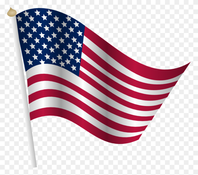 American Flag Clip Art Free - Resume Clipart PNG