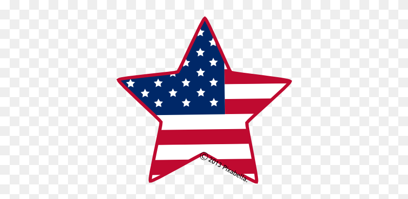 American Flag Clip Art Star American Clip Art, Art - Merica Clipart