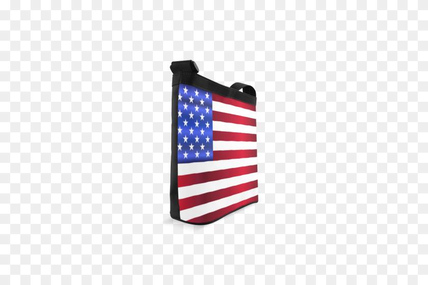 American Flag Crossbody Bags - American Flag PNG
