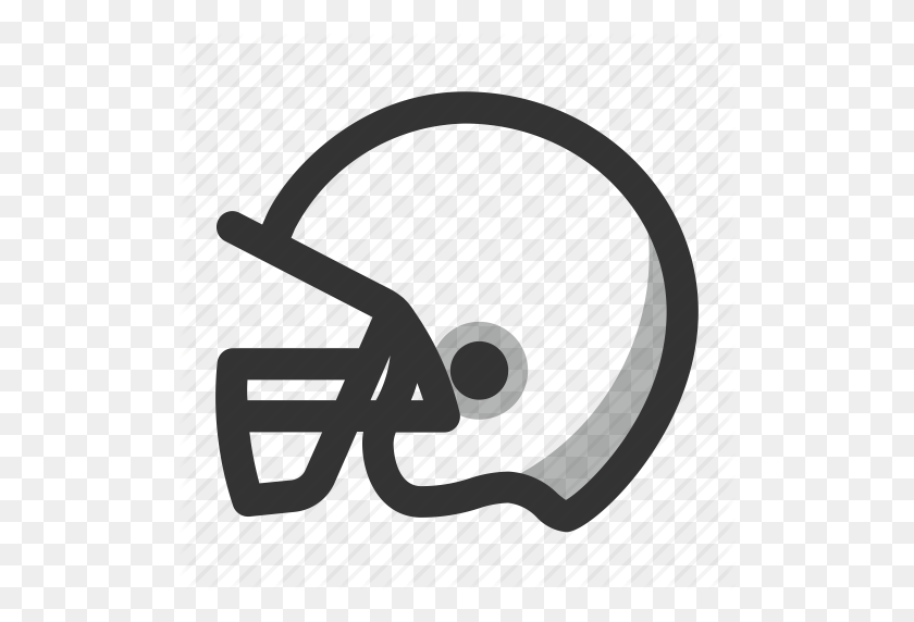 American Football, Game, Helmet, Nfl, Play, Sports Icon - Nfl Football PNG