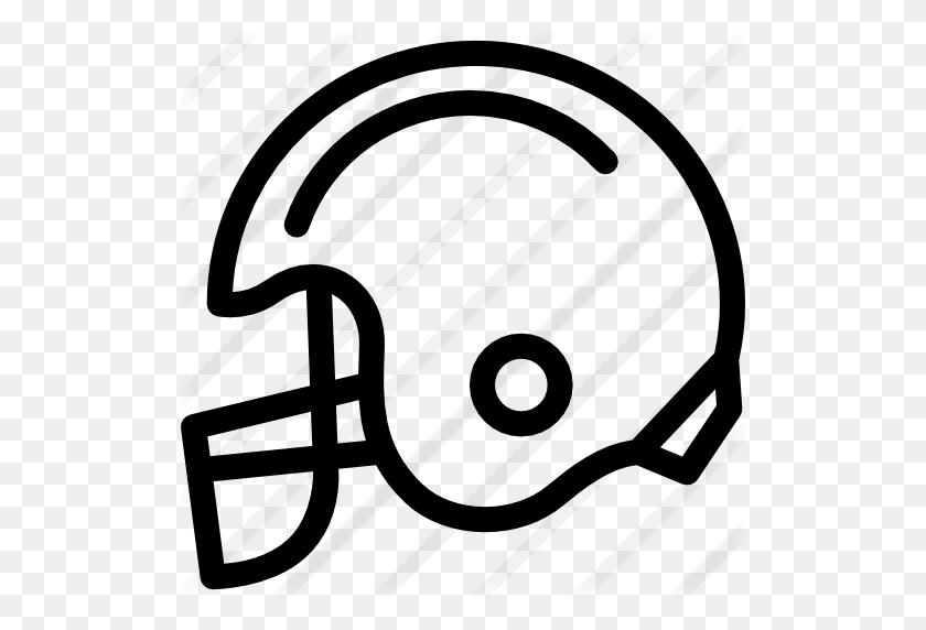 American Football Helmet - Football Helmet Clipart Black And White