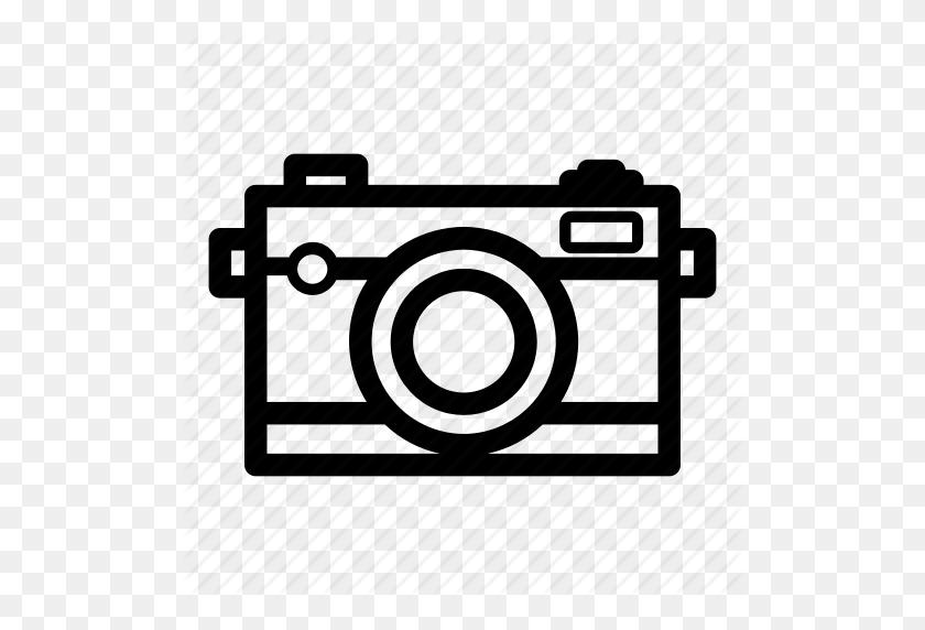 Analog Camera, Canon, Dslr, Eos, Nikon, Photography Icon - Nikon Logo PNG