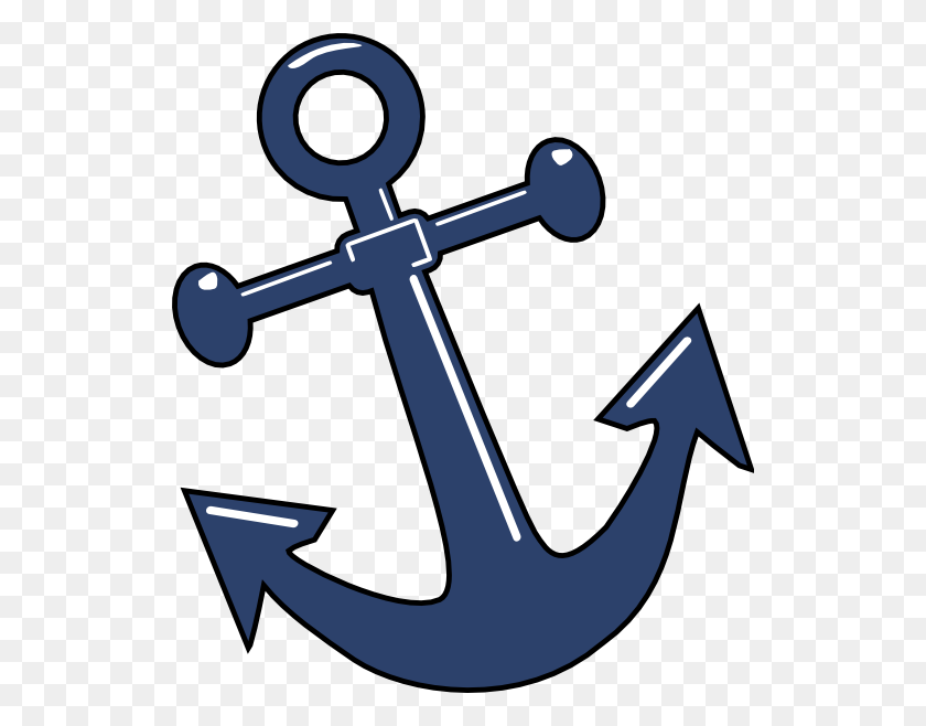 Anchor Clip Art - Nautical Baby Shower Clipart
