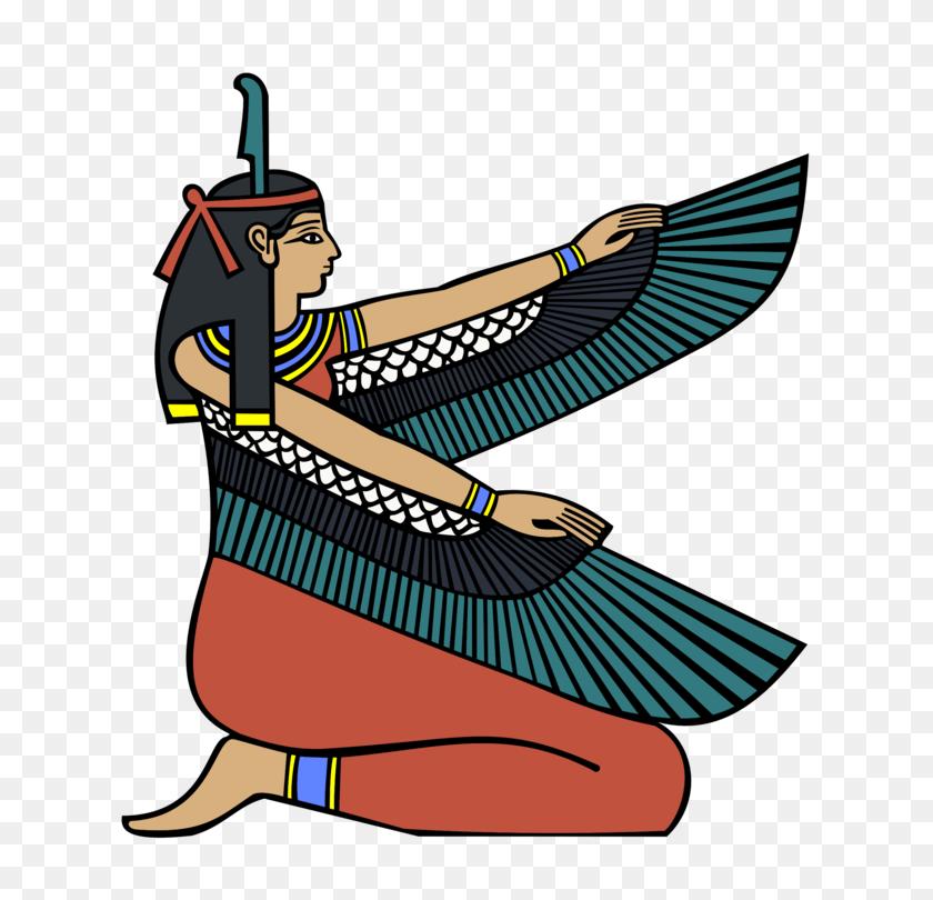 Ancient Egyptian Deities Maat Ancient Egyptian Religion Free - Pharaoh Clipart