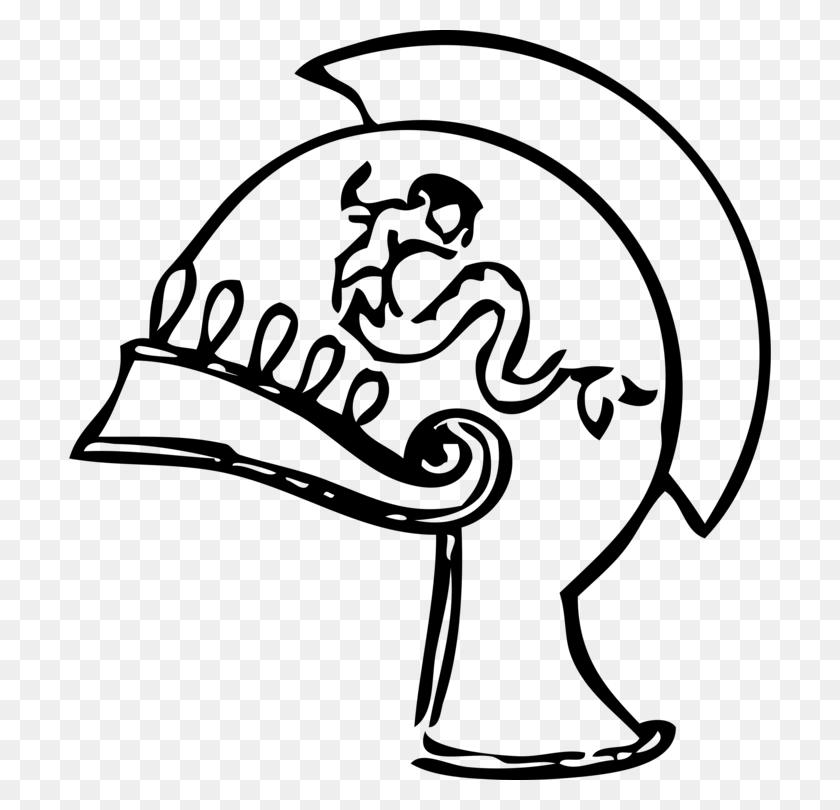 Ancient Greece Sparta Ancient Greek Ancient History Corinthian - Poseidon Clipart