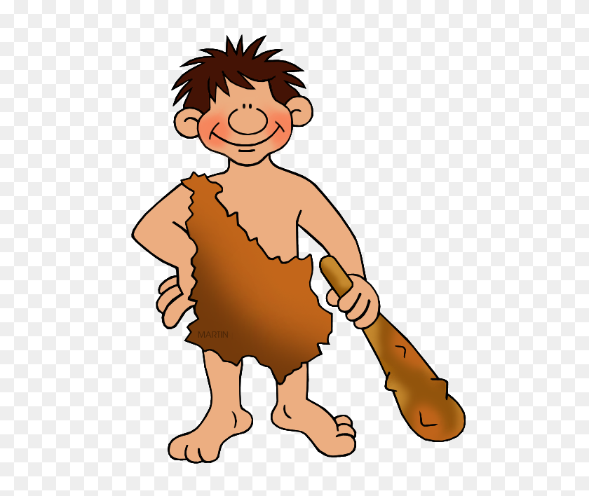 Ancient Humans Working Clipart - People Working Clipart