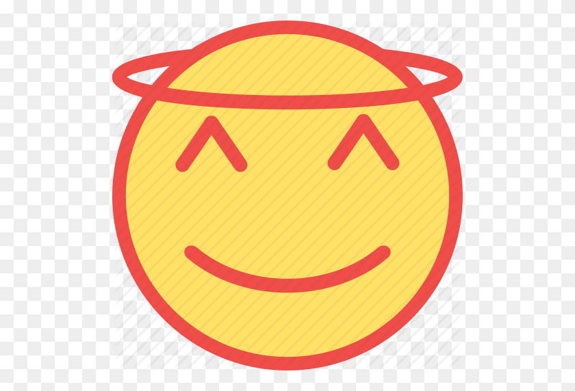 Angel, Emoji, Halloween, Halo, Pumpkn - Angel Emoji PNG