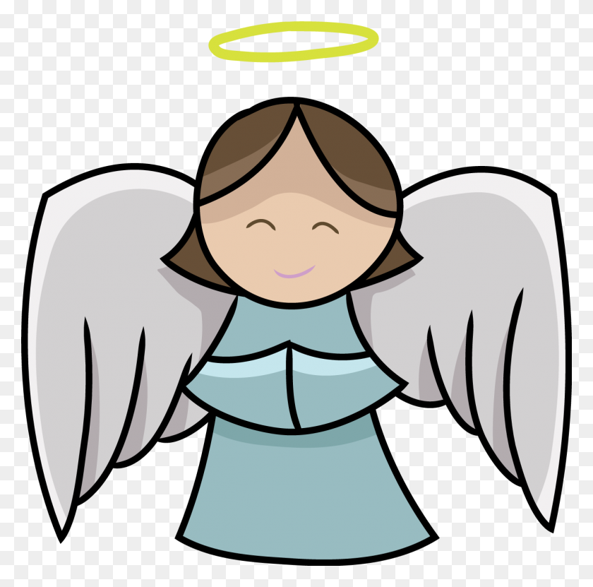 Angel Clipart Free Black And White - Angel Wings Clipart Free