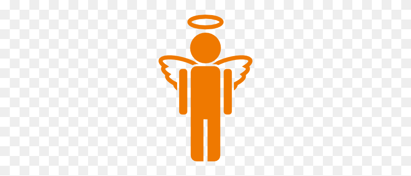 Angel Icon Clip Art - Boy Angel Clipart