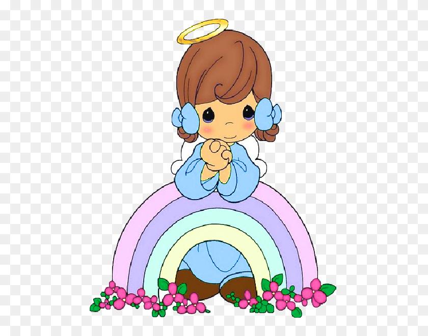 Angel Precious Moments, Baby - Precious Moments Clipart