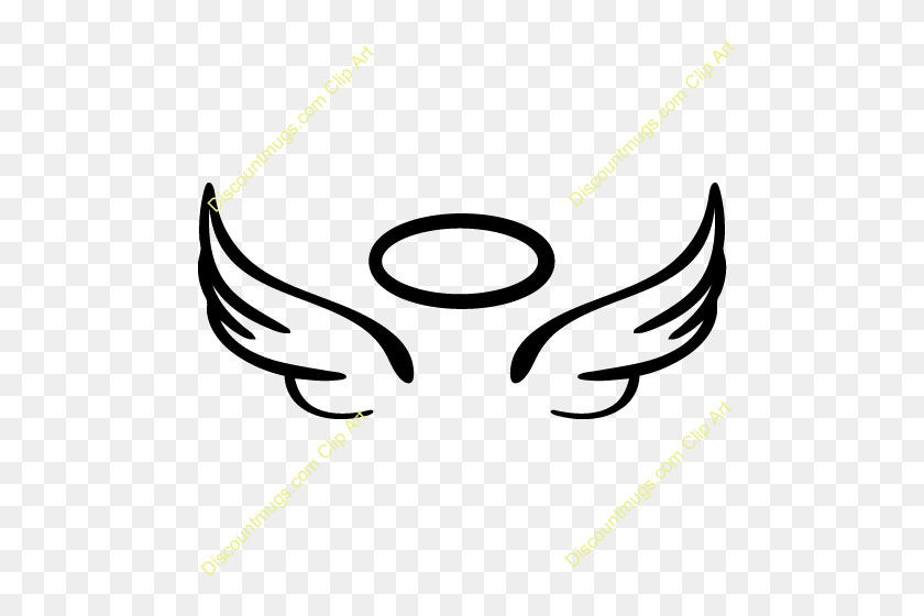 500x500 Angel Wings - Arena Clipart