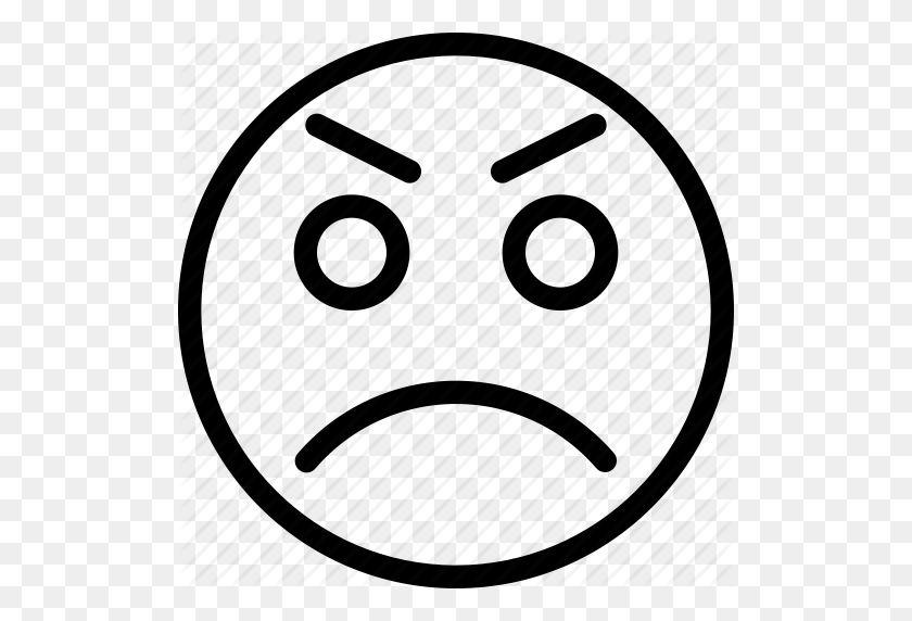 Angry, Animation, Bad, Bad Mood, Chat, Creative, Email, Emoticon - Angry Emoji Clipart
