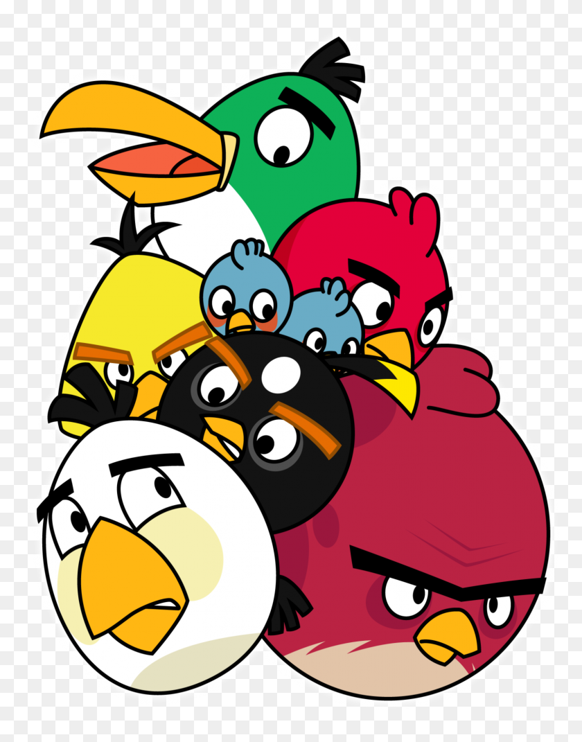 Angry Birds Png Transparent Angry Birds Images - Red Bird PNG