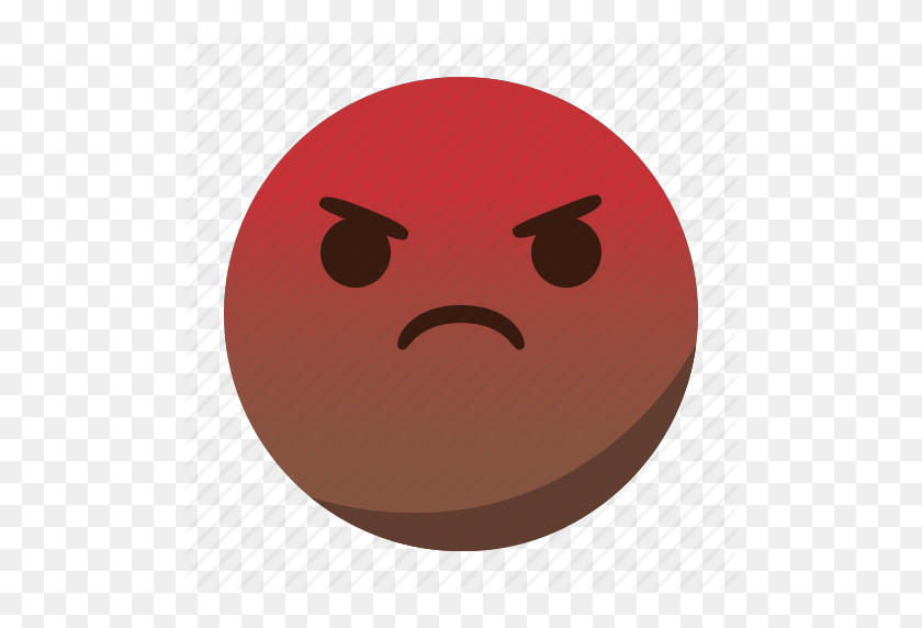 512x512 Angry, Emoji, Emoticon, Face, Mad Icon - Mad Emoji PNG