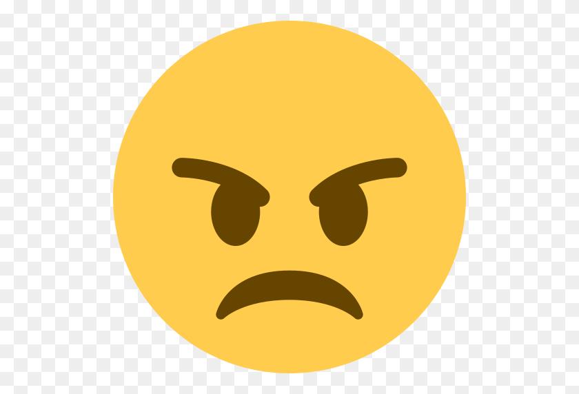 Angry Face Emoji - Shocked Emoji PNG