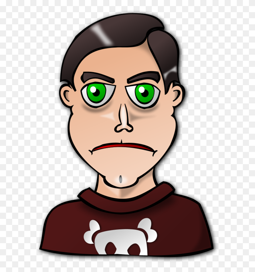 Angry Man Clipart - Mad Person Clipart