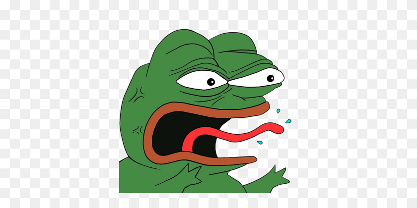 Angry Pepe - Angry Mouth PNG