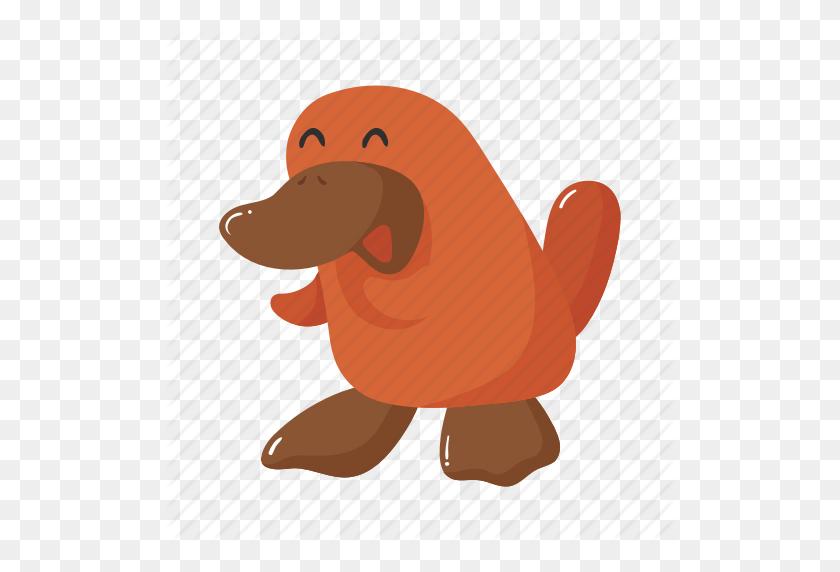 Animal, Australia, Brown, Colorful, Landmark, Object, Platypus Icon - Platypus PNG
