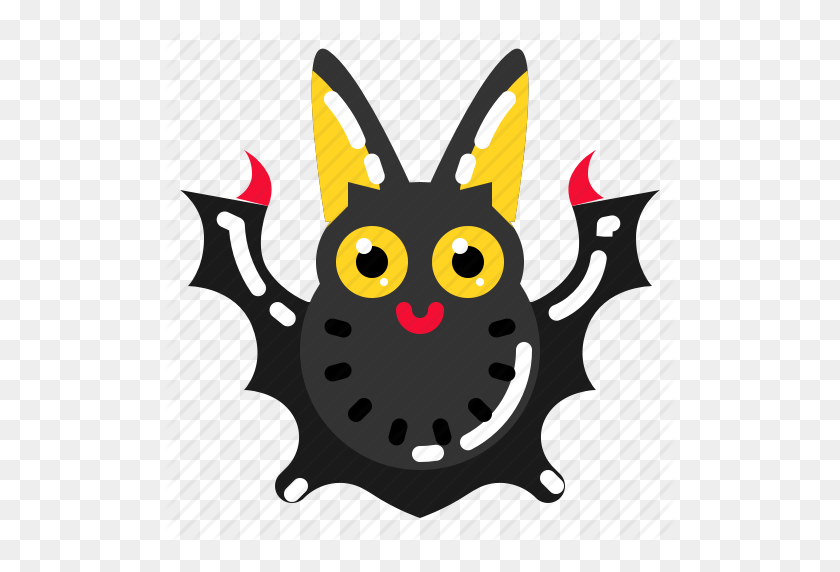 Animal, Bat, Spooky, Vampire Icon - Vampire Bat Clipart