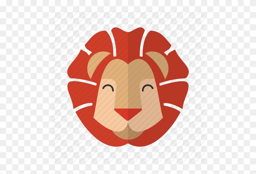 Animal, Brave, Cute, Fauna, Head, Lion, Mascot Icon - Lion Mascot Clipart