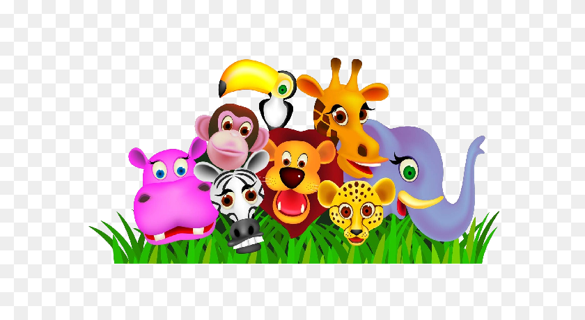 Animal Cartoon Clipart Free Free Jungle Animal Clipart Stunning Free Transparent Png Clipart Images Free Download